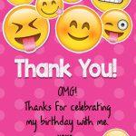 Printable Emoji Thank You Cardskitty Baby Love   Printable Emoji Thank You Cards