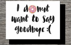 Free Printable Goodbye Cards