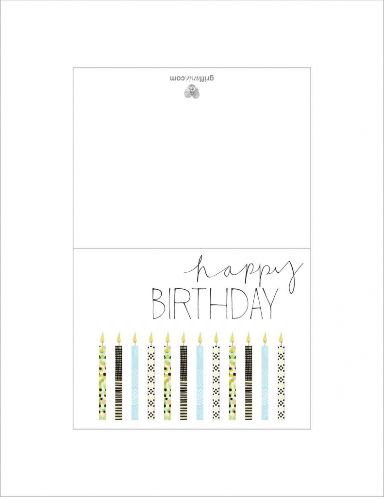 Printable Father Birthday Cards – Happy Holidays! | Printable Father Birthday Cards