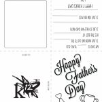 Printable Father's Day Card For Kids To Make | Holidays  Fathers Day | Fathers Day Printable Cards