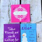 Printable Frozen Valentines | Desert Chica | Frozen Valentine Cards Printable