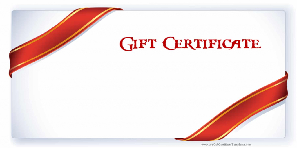 Printable Gift Certificate Templates | Free Printable Gift Cards