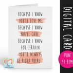 Printable Godmother Card, Godmother Poem Card, Will You Be My | Will You Be My Godmother Printable Card
