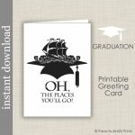 Printable Graduation Card High School Graduation College | Etsy | High School Graduation Cards Printable