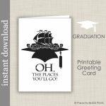 Printable Graduation Card High School Graduation College | Etsy | High School Graduation Cards Printable