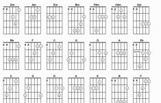 Guitar Chord Flash Cards Printable