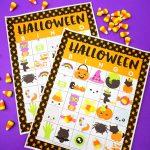 Printable Halloween Bingo Cards – Happiness Is Homemade | Printable Halloween Bingo Cards For Classroom