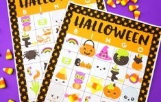 Printable Halloween Bingo Cards For Classroom