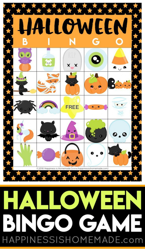 Printable Halloween Bingo Cards - This Halloween Bingo Game Is A Ton | Printable Halloween Bingo Cards For Classroom