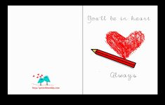 Printable Love Birthday Cards For Him