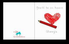 Printable Love Birthday Cards For Him