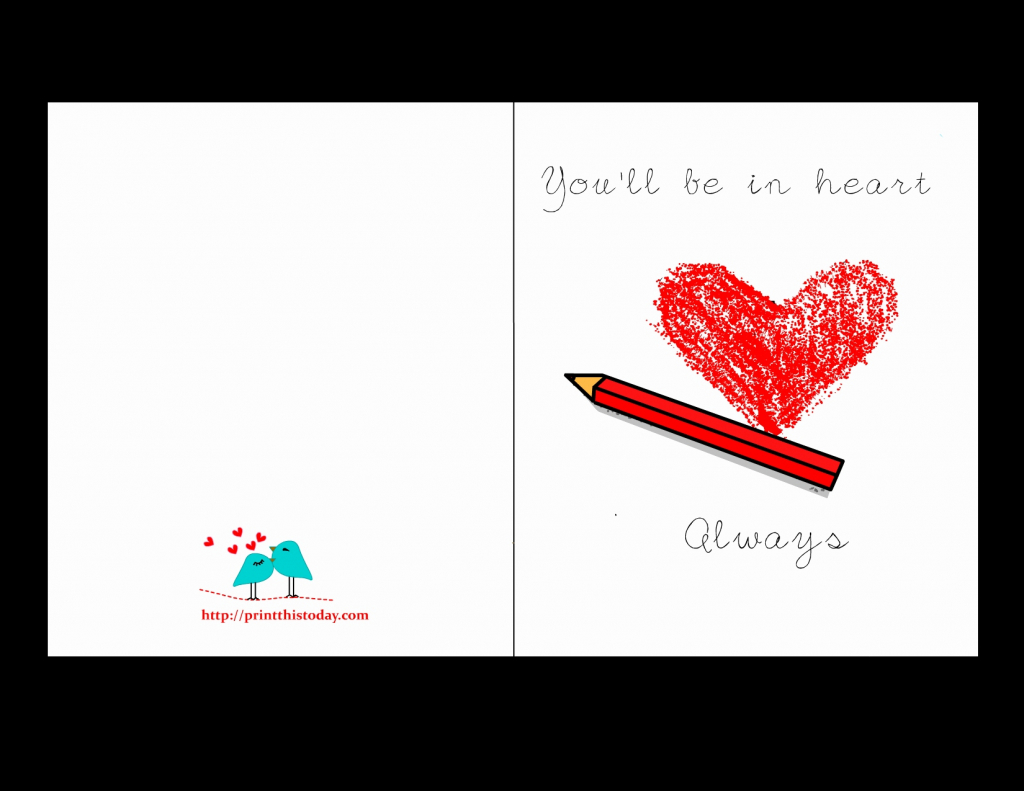 Printable I Love You Cards For Him - Lacalabaza | Lacalabaza | Printable Romantic Cards For Her