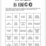 Printable Ice Breaker Game Human Bingo Wedding Bridal | Etsy | Printable Icebreaker Bingo Cards
