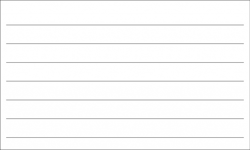 Printable Index Cards 3X5 - Canas.bergdorfbib.co | Printable Index Cards 3X5