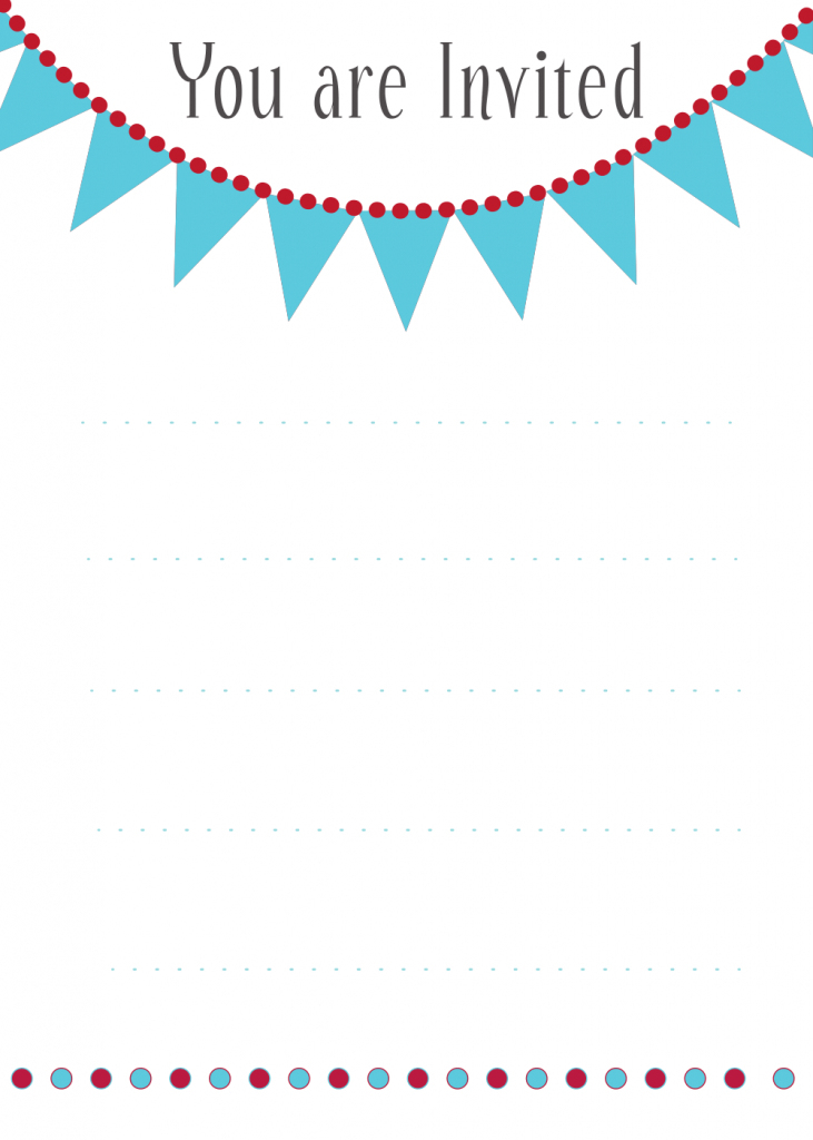Printable Invitation Card - Canas.bergdorfbib.co | Free Printable Birthday Invitation Cards Templates