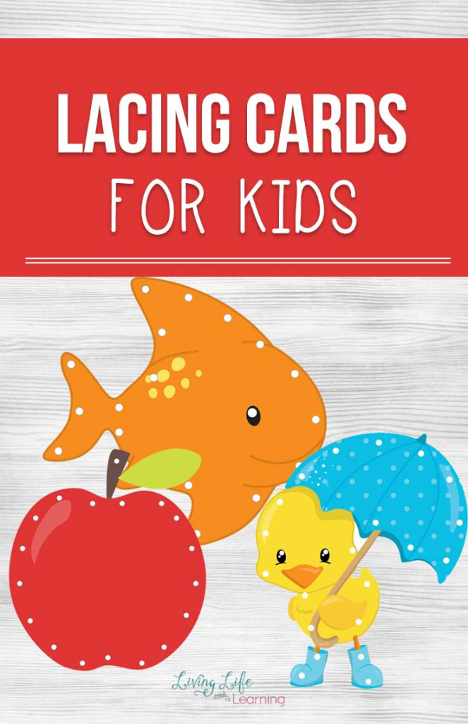 Printable Lacing Cards For Kids | Printable Lacing Cards Numbers