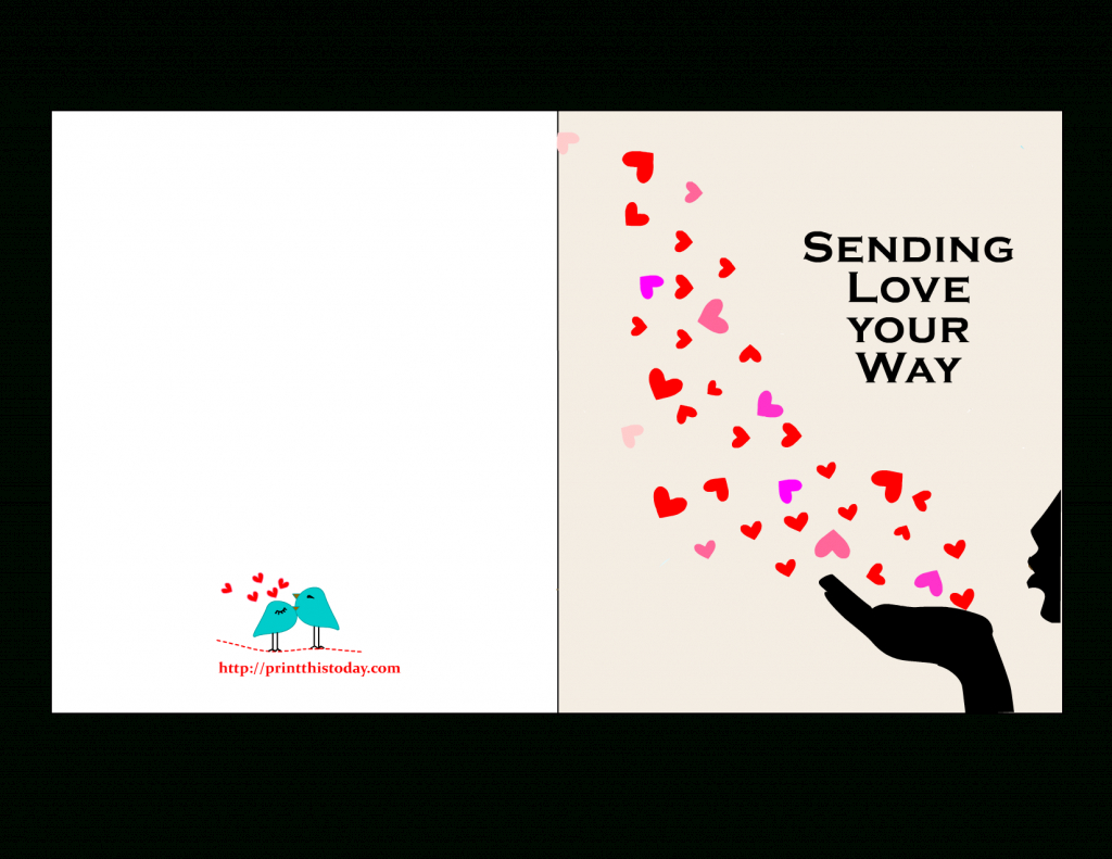 Printable Love Cards For Him - Lacalabaza | Lacalabaza | Free Printable Love Cards