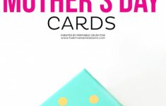 Mother's Day Card Maker Printable