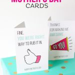 Printable Mother's Day Cards | Printable Mothers Day Cards For Preschoolers