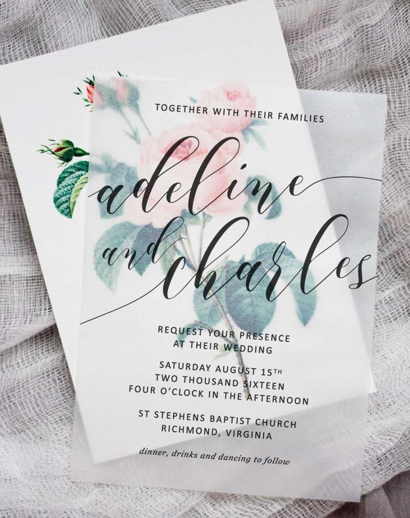 Printable Paper For Invitations - Kleo.bergdorfbib.co | Printable Invitation Card Stock