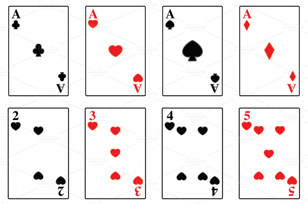 Printable Playing Card - Under.bergdorfbib.co   Free Printable Deck Of Cards