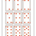 Printable Playing Cards   Hearts | Woo! Jr. Kids Activities | Printable Deck Of Cards