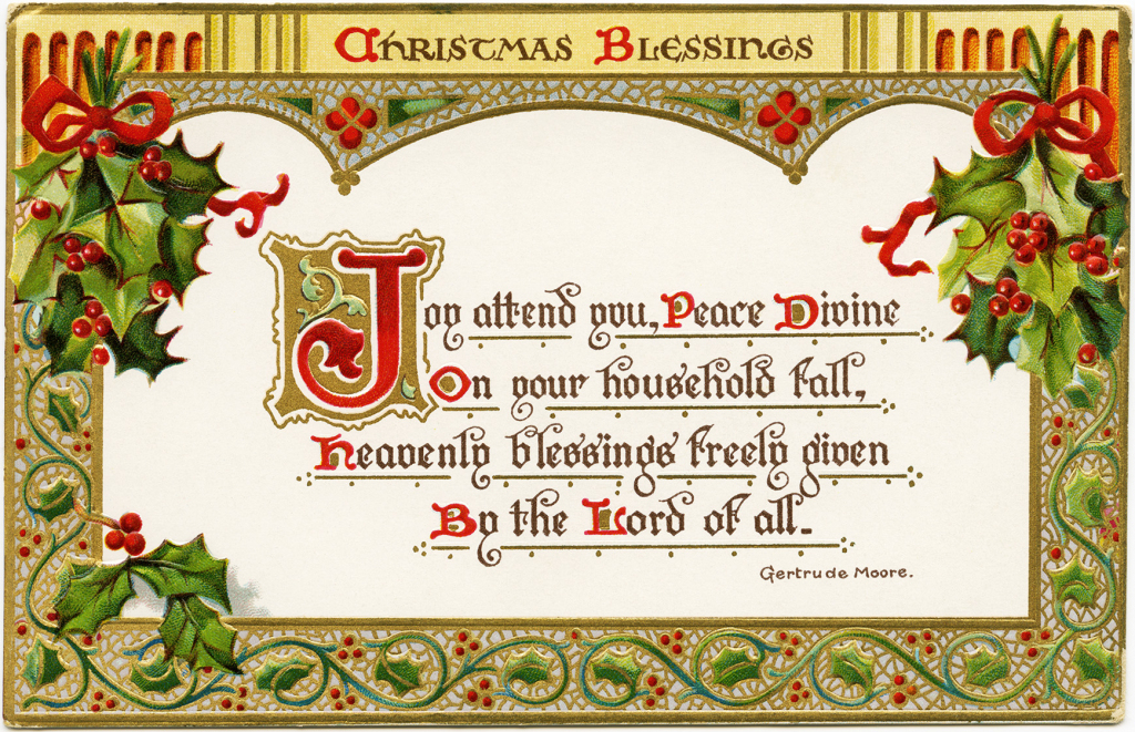 Printable Religious Christmas Cards – Fun For Christmas & Halloween | Printable Religious Greeting Cards