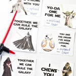 Printable Star Wars Valentine's Day Cards   Yellow Bliss Road | Printable Star Wars Cards