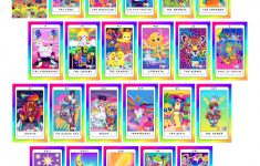 Printable Tarot Cards To Color