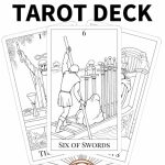 Printable Tarot Cards To Color   Printable Cards   Free Printable Cards To Color