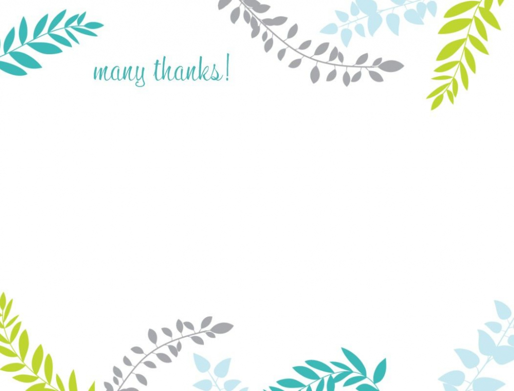 Printable Thank You Card Template | Harmonia Gift | Teacher's Day | Printable Photo Thank You Card Template