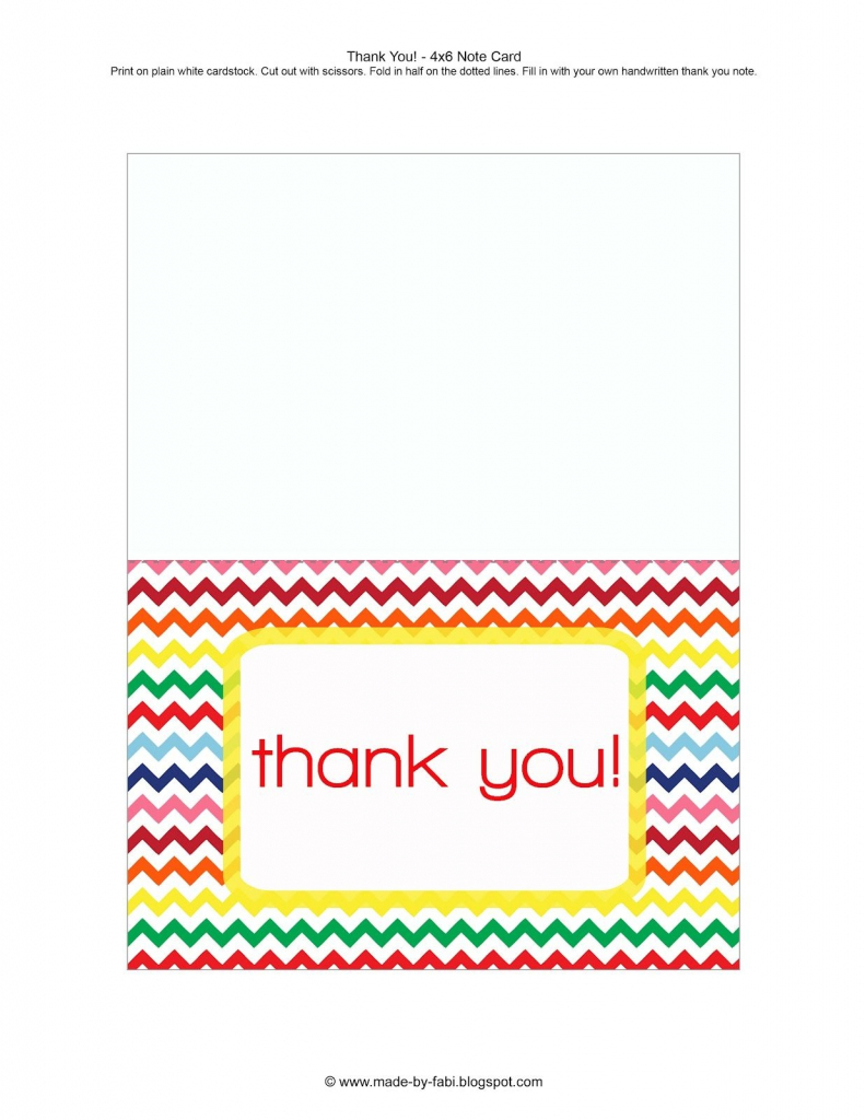 Printable Thank You Cards For Students - Printable Cards | Printable Thank You Cards
