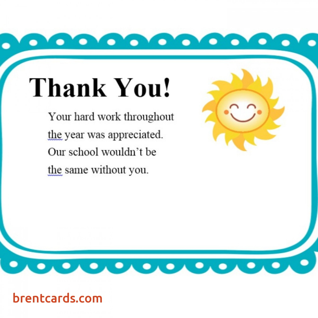Printable Thank You Cards For Teachers - Printable Cards | Printable Thank You Cards For Teachers