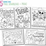 Printable Thank You Cards   Thank You, Me | Printable Thank You Cards For Kids To Color