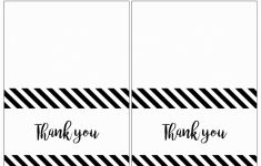 Printable Photo Thank You Card Template