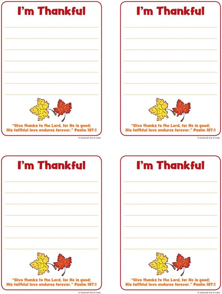 Printable Thanksgiving Cards And Tags! Tell Someone You Are Thankful | Printable Thanksgiving Cards For Kids