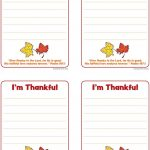 Printable Thanksgiving Cards And Tags! Tell Someone You Are Thankful | Thanksgiving Cards For Kids Printable