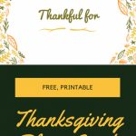 Printable Thanksgiving Place Cards | Adorethem   Collection Of | Printable Thanksgiving Place Cards For Kids