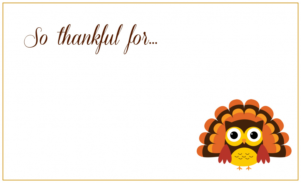 Printable Thanksgiving Placecards ~ Creative Market Blog | Free Printable Thanksgiving Place Cards
