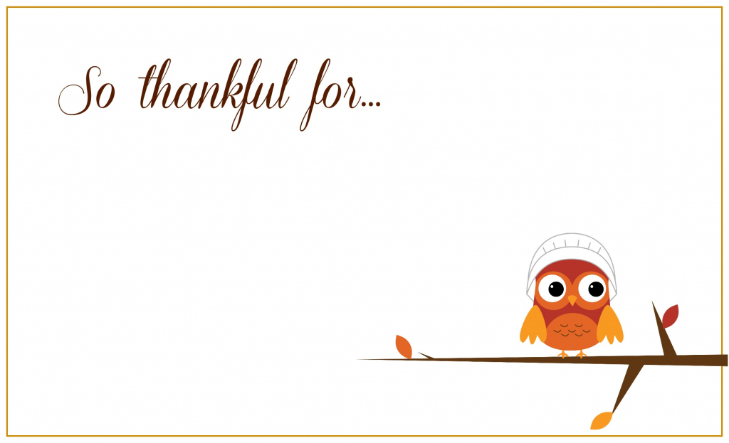 Printable Thanksgiving Placecards ~ Creative Market Blog | Printable Thanksgiving Place Cards