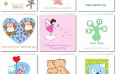 Free Printable Valentine Cards For Preschoolers