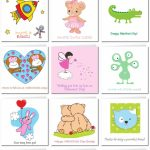 Printable Valentine Cards For Kids | Free Printable Valentines Day Cards Kids