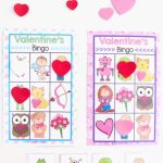 Printable Valentine's Bingo Game   Fun With Mama | Shapes Bingo Cards Printable