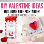 Printable Valentines & Diy Valentine Ideas For Kids | Easy | Free Printable School Valentines Cards