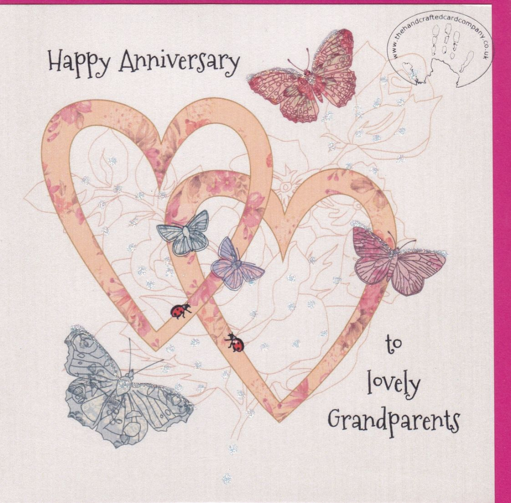 Printable Wedding Anniversary Card - Under.bergdorfbib.co | Anniversary Cards For Grandparents Printable