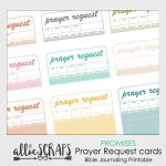 Promises | Prayer Request Cards Printable | Prayer Request Cards Printable
