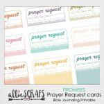 Promises | Prayer Request Cards Printable | Printable Prayer Request Cards