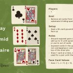 Pyramid Solitaire Card Game Rules | Printable Rules For Golf Card Game