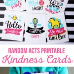 Random Acts Printable Kindness Cards   The Crafting Chicks | Free Printable Kindness Cards