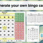 Random Number Bingo Card Generator | Bingo Card Generator   2019 02 17 | Free Printable Bingo Cards Random Numbers